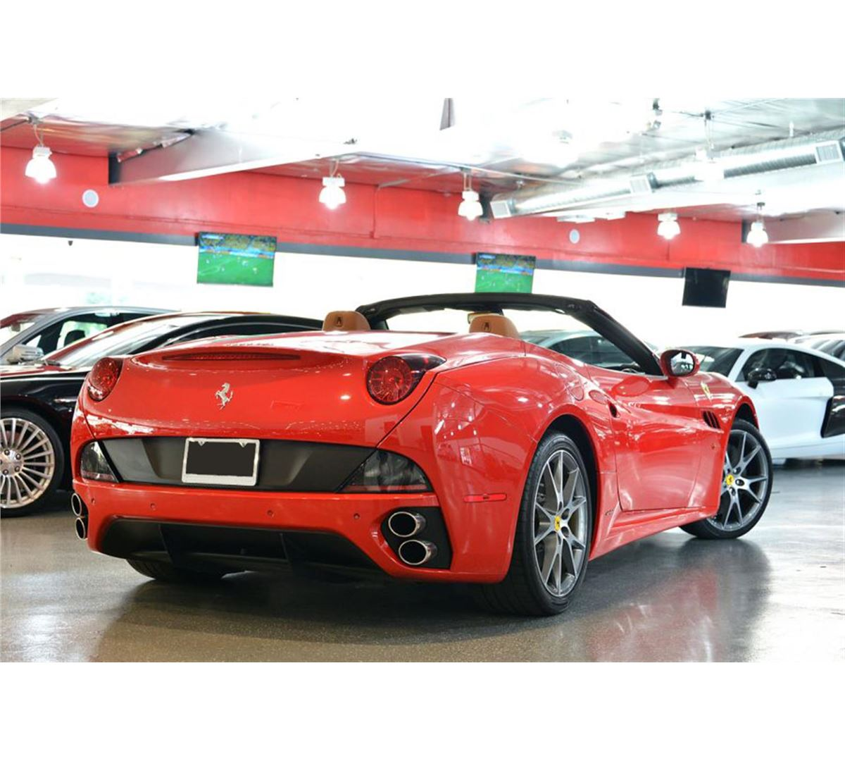 Ferrari Starting Price: 2012 Red Ferrari California Convertible