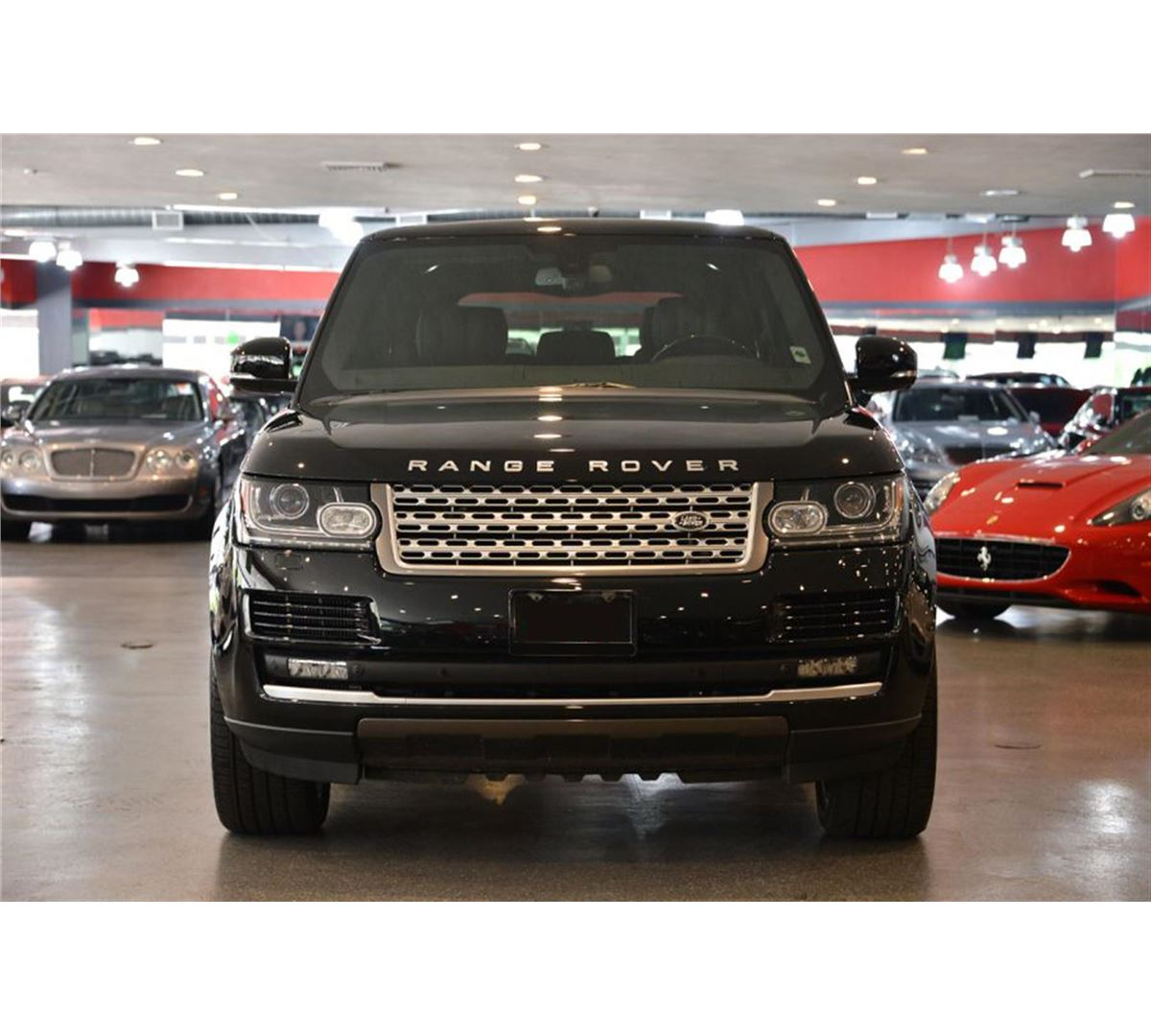 2013 Black Land Rover Range Rover Supercharged SUV