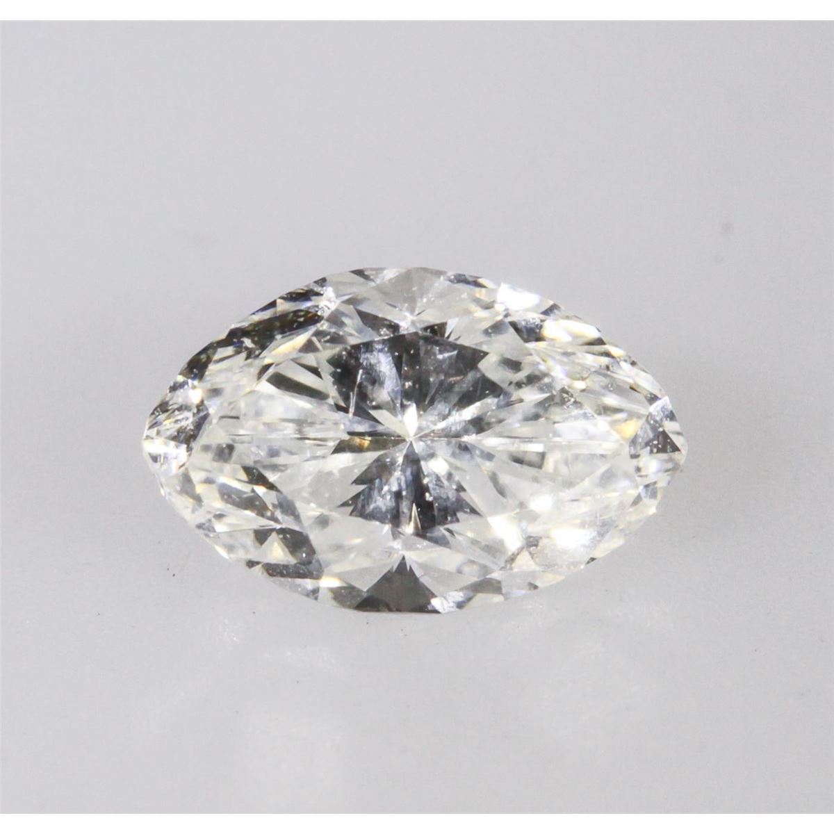 Gia Certified 0 49ct Marquise Cut Loose Diamond