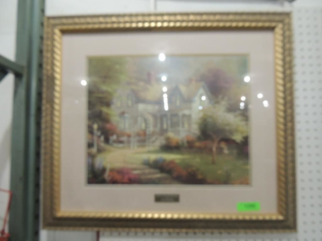 Image 1 : THOMAS KINKADE LIBRARY EDITION HOME IS WHERE THE T ...