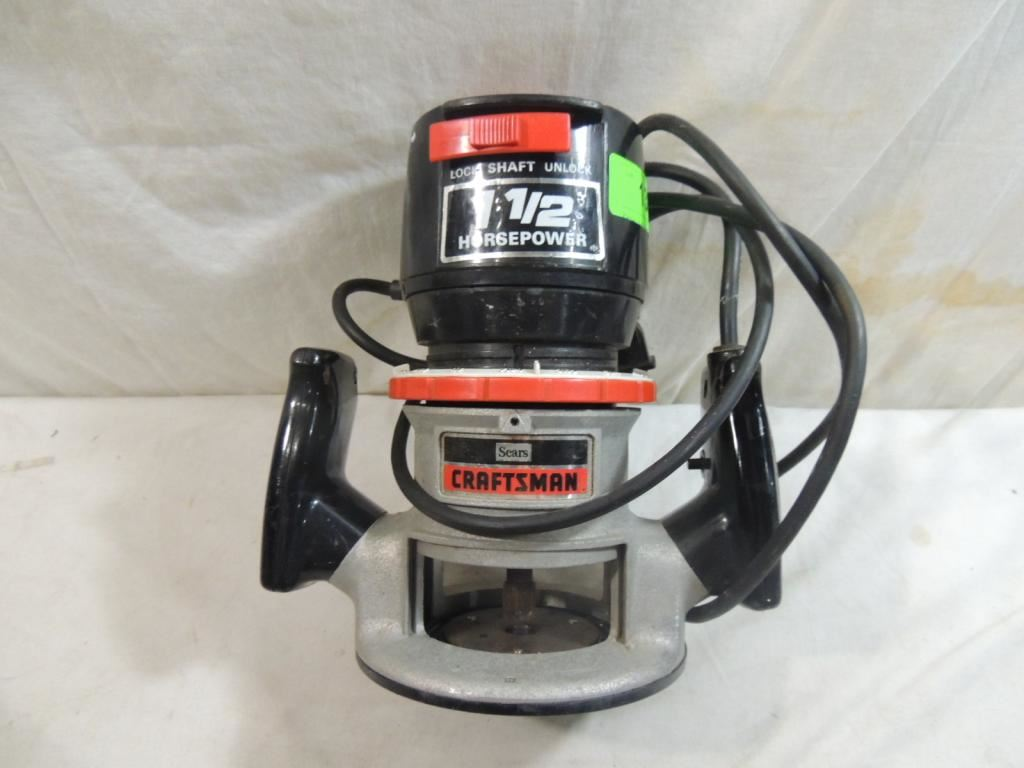 Sears craftsman router for Sears craftsman