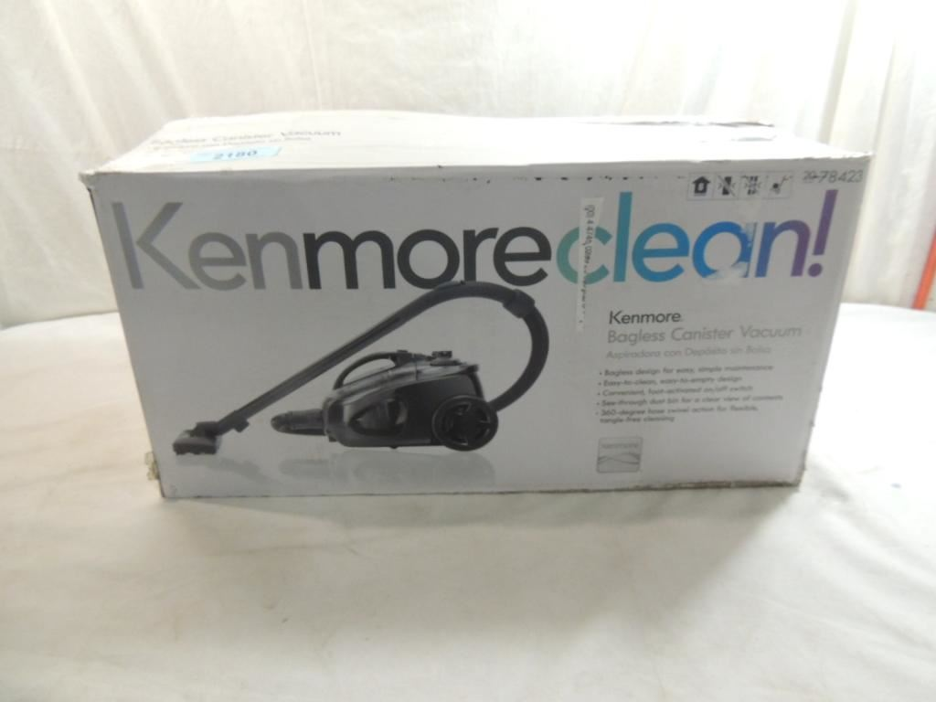 kenmore central vacuum how to clean