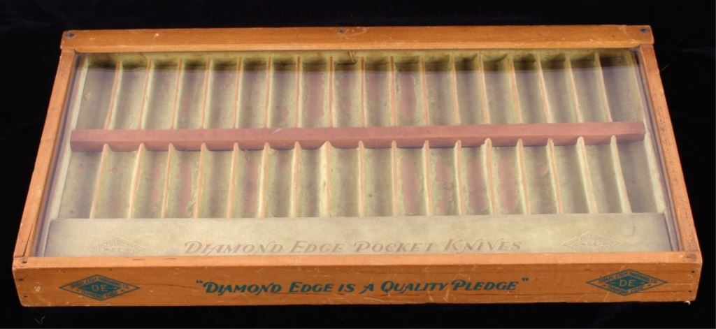 Knife Display Case Company Source · Diamond Edge Pocket Knife Display Case.  Loading Zoom