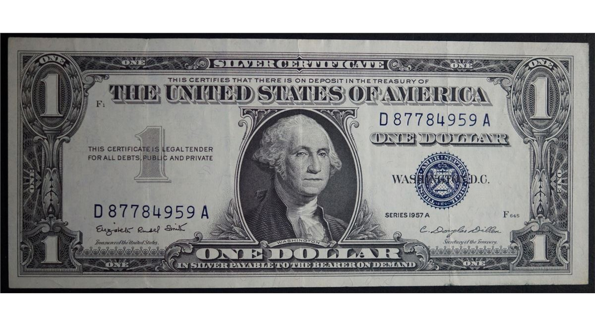 1957 a series one dollar silver certificate consecutive serial image 2 1957 a series one dollar silver certificate consecutive serial numbers xflitez Images