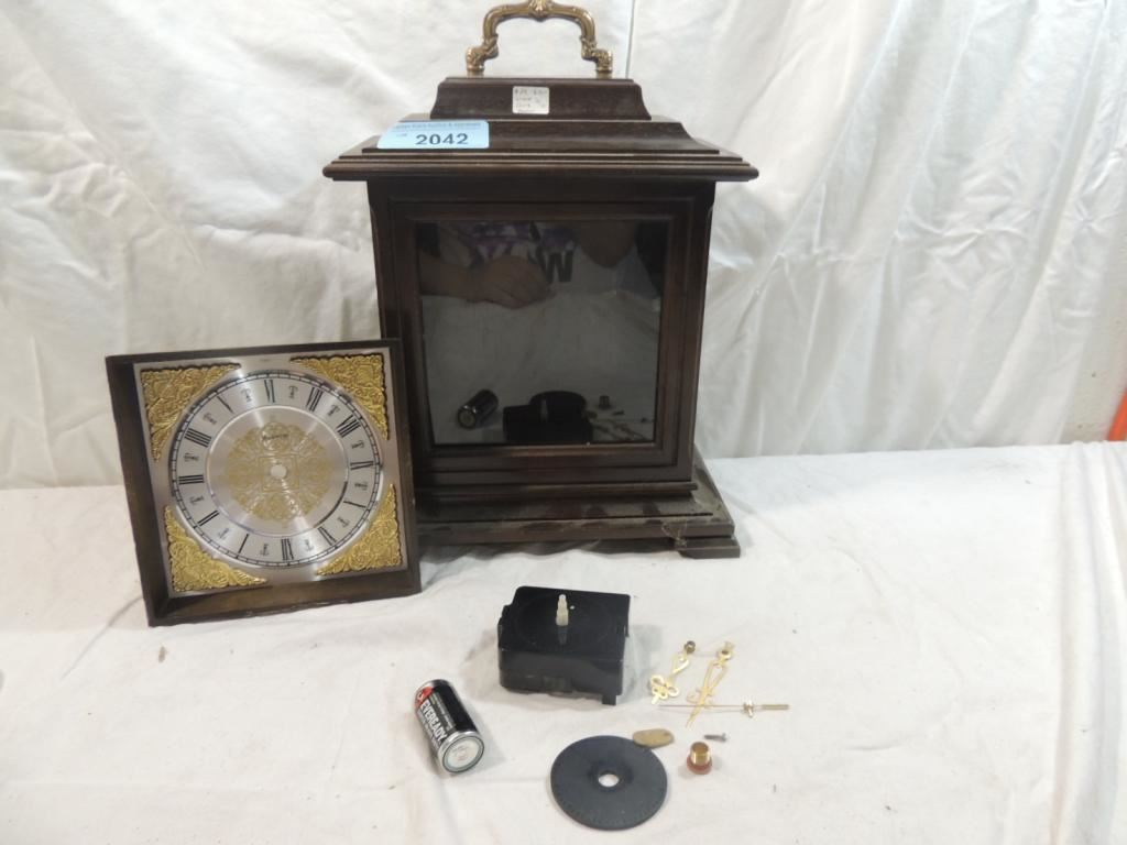 Perfect Arts Amp Crafts Mantel Clock Plan Amp Parts  Schlabaugh Amp Sons