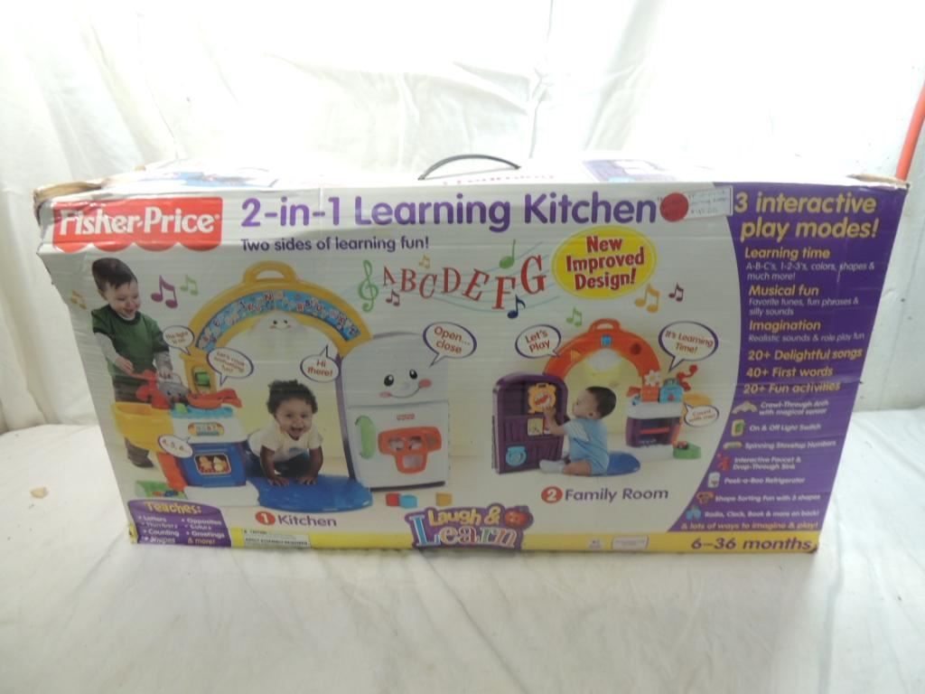 Fisher Price 2 In 1 Learning Kitchen Loading Zoom