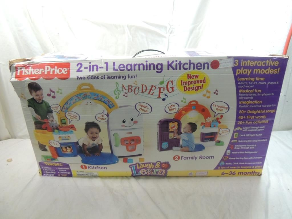 Image 2 Fisher Price In 1 Learning Kitchen