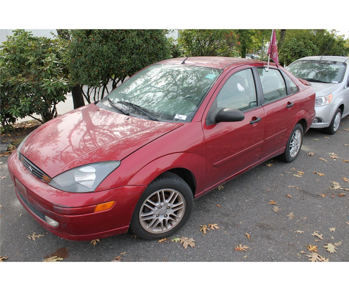 2003 ford focus se 4 door sedan red vin 1fafp343x3w159353. Black Bedroom Furniture Sets. Home Design Ideas