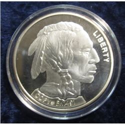 32. 2001 Silver Buffalo Copy # BK1491. Prooflike. Encapsulated.