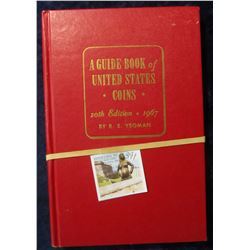 "391. 1967 ""A Guide Book of United States Coins"" 20th Edition by R.S. Yeoman. VG condition."