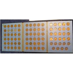 561. 1941-71 Partial Set of Lincoln Cents in a Whitman folder. (78 pcs.).