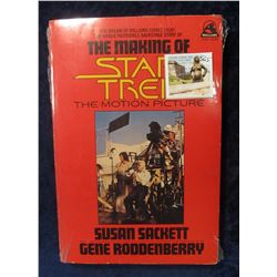 "565. ""The Making of Star Trek The Motion Picture"", pbk., By Susan Sackett and Gene Roddenberry. Mint"