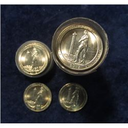 585. 2013 S Perry's Victory Commemorative Quarter Roll in a plastic tube. Gem BU. (40 pcs.).