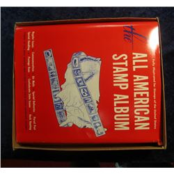 "586. ""Fully Illustrated for Stamps of the United States The All American Stamp Album"" in close to mi"