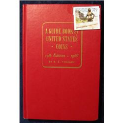 "719. ""A Guide Book of United States Coins"" 19th Edition. 1966. By R.S. Yeoman. Hardbound., excellent"
