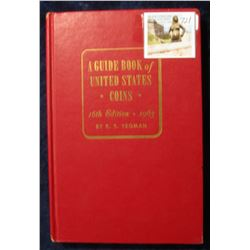 "721. ""A Guide Book of United States Coins"" 16th Edition. 1963. By R.S. Yeoman. Hardbound., Very Good"