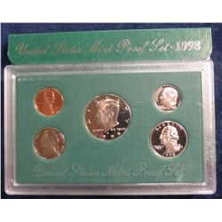 745. 1998 S U.S. Proof Set. Original as issued. Issue price $12.50.