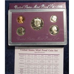 778. 1989 S US Proof Set. Original as Issued.