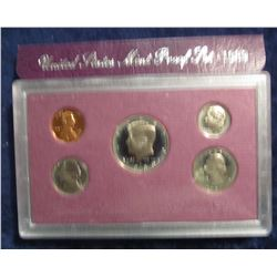 779. 1989 S US Proof Set. Original as Issued.