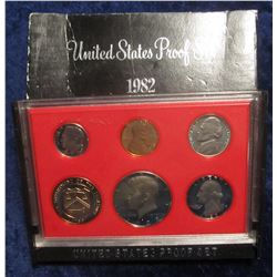 780. 1982 S US Proof Set. Original as Issued.