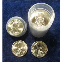 "816. 2007-2011 Littleton Coin Co. assembled Set of Presidential U.S. ""Golden"" Dollar Coins in a plas"