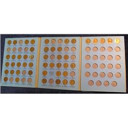 838. 1941-65 Partial Set of Lincoln Cents in a Whitman folder. (46 pcs.).