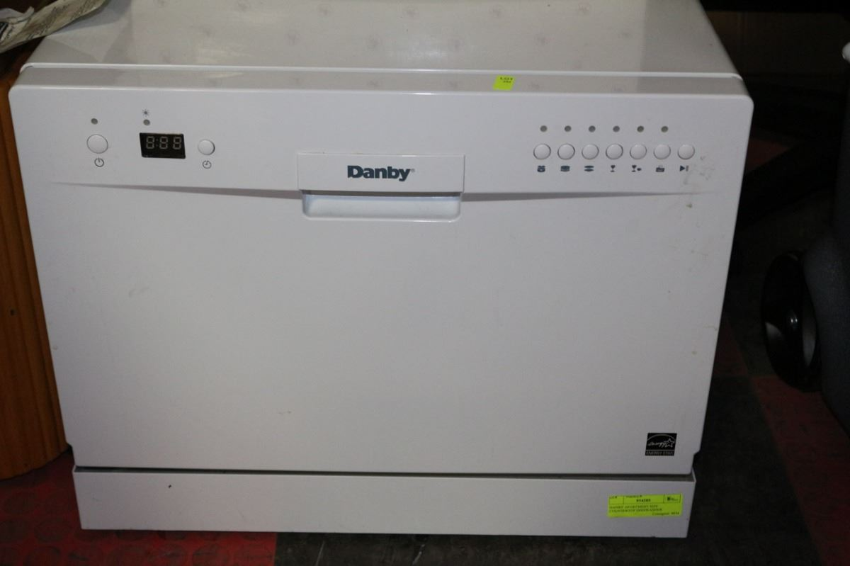High Quality Image 1 : DANBY APARTMENT SIZE COUNTERTOP DISHWASHER