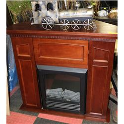 Electric Fireplace With 3 Storage Kastner Auctions
