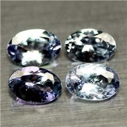 LOT OF 2.09 CTS OF BLUE TANZANITE