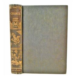 """1950 """"CHANCE A TALE IN TWO PARTS"""" HARDCOVER BOOK"""