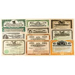 Automobile Equipment Companies Stock Certificates