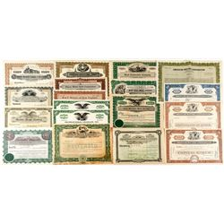 Automobile Stock Certificate Collection 2