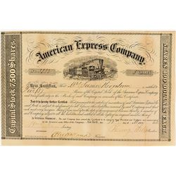 american express company stock certificate wells fargo holland