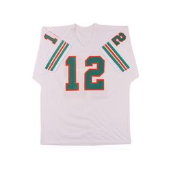 Miami Dolphins Hall of Famer Bob Griese Autographed Jersey