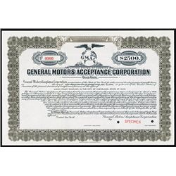 general motors acceptance corp 1926 specimen bond