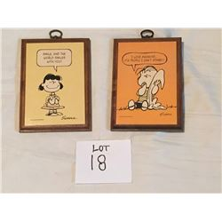 Vintage Peanuts Character Pictures