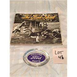 Vintage Ford Ashtray Ford Book