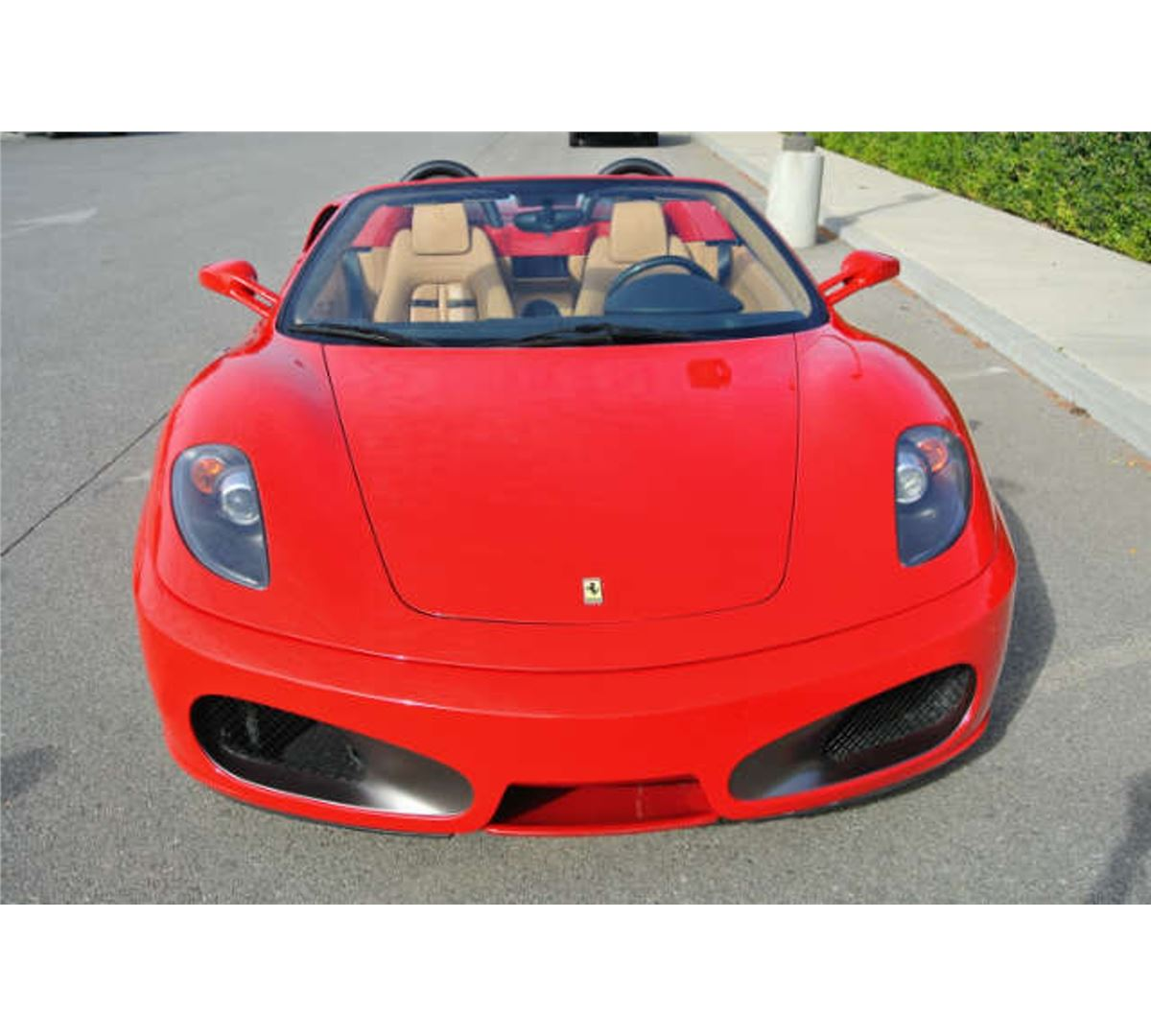 Ferrari Convertible: 2006 Red Ferrari 430 Convertible