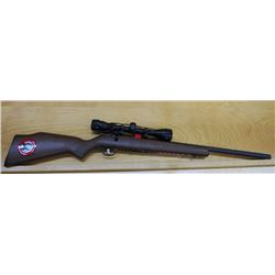 Savage 93R17, .17 HMR, w/ scope, new