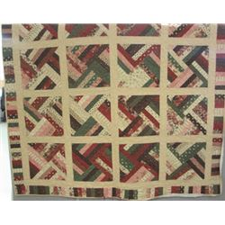 "72"" x 73"" Quilt was pieced by Linda Robinson and quilted by Shawna Crawford.  The pattern used was c"
