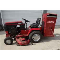 "1990 Toro Wheel Horse Classic 312 Hydro tractor, 12 hp., 440 actual hours, 48"" grass deck and Trac V"