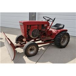 "1968-70 Wheel Horse Charger 12 Model 1-7241 lawn tractor, 12 hp, hydro, front mt 42"" blade, chains"