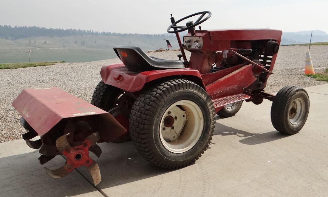 12 Wheel Tractor : Wheel horse hp lawn tractor manual