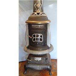 Charter Oak wood heater stove, excellent condition