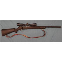 "Savage 93, 17 HMR cal., bolt action, 21"" bull bbl, synthetic stock, Accu Trigger, s#0627936, w/ Bush"