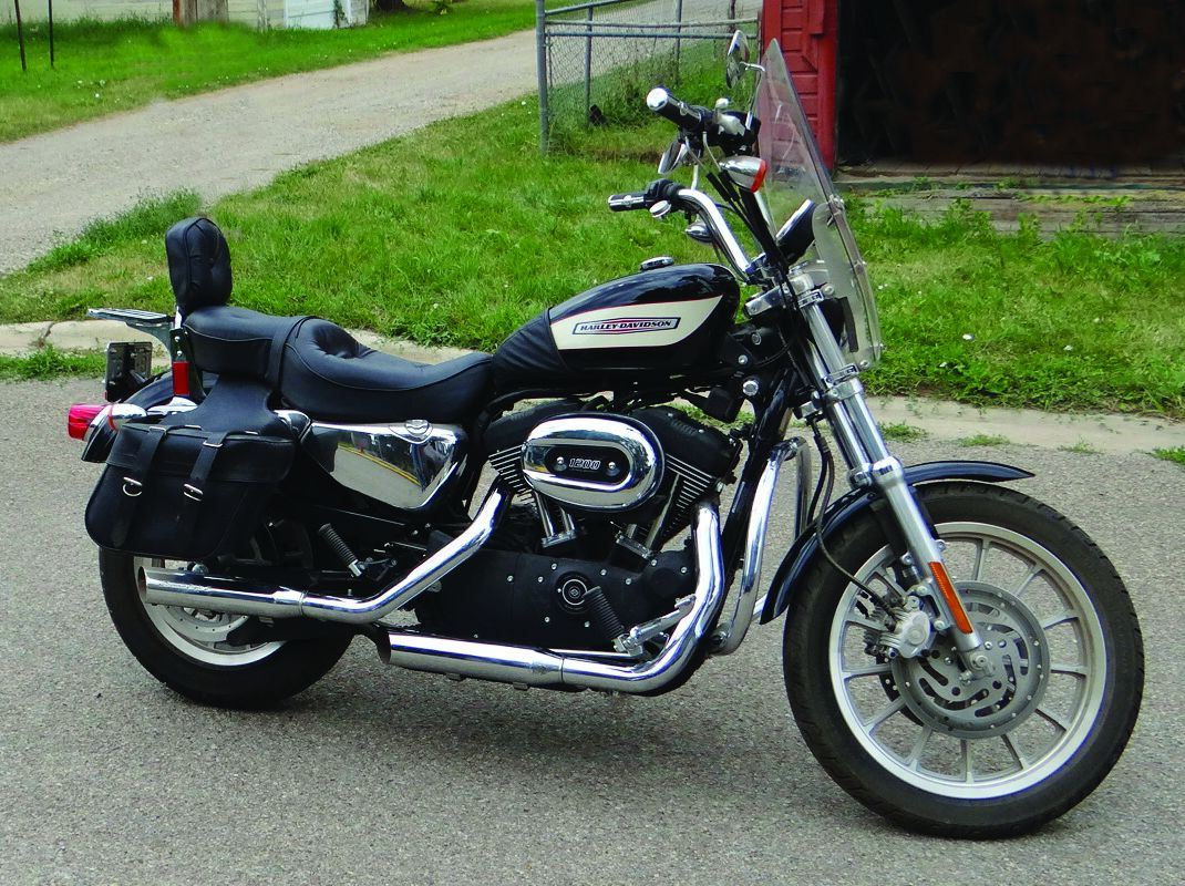 2006 Harley Davidson 1200 Sportster 1 040 Actual Miles Screaming Eagle Exhaust Saddle Loading Zoom