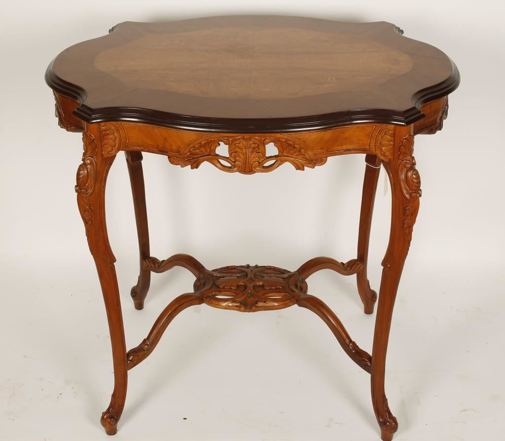 Antique victorian console table for Sofa table victorian