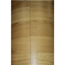 Partial roll of wood tone laminate flooring kastner auctions for Laminate roll flooring