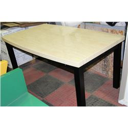 faux marble top kitchen table