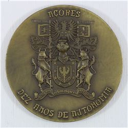 1986 heroism Medal. This Medal weighs 202.5 grams and has a  diameter of 79 MM
